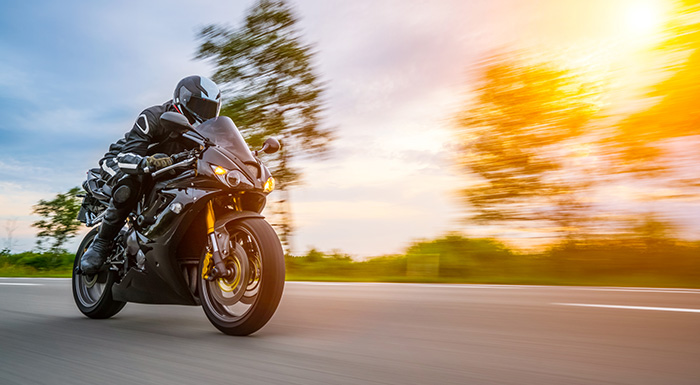 Motorcycle rider in need of a Miami motorcycle accident lawyer
