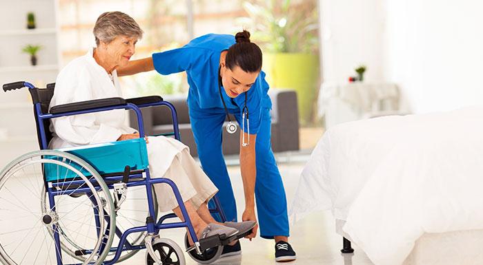 Nursing home abuse victim